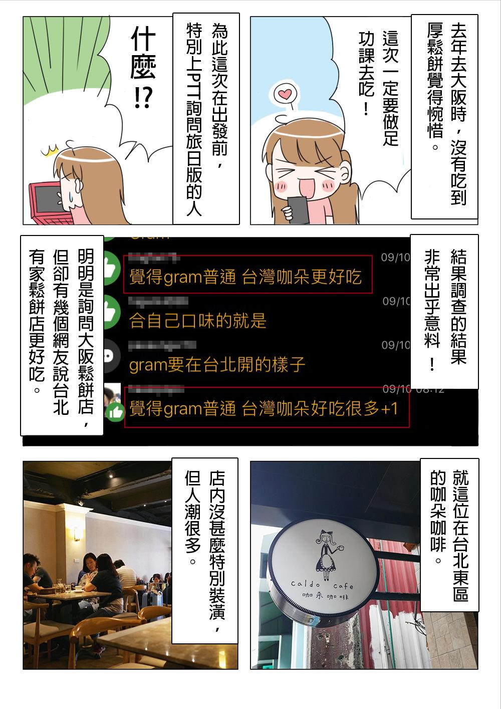 台北 東區 美食 下午茶 咖朵咖啡 熱蛋糕 舒芙蕾 CP值超高的咖啡店