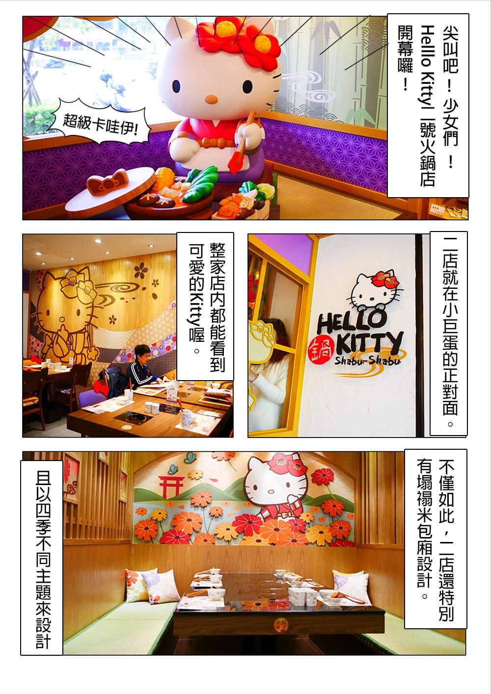 Hello Kitty 火鍋 二號店 (南京店) 台北小巨蛋  Shabushabu