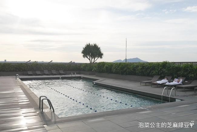 晶華酒店 台北中山區 五星級老字牌飯店 日本人之愛  屋頂游泳池